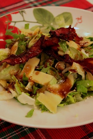 Tossed Salad with Bourbon Dressing